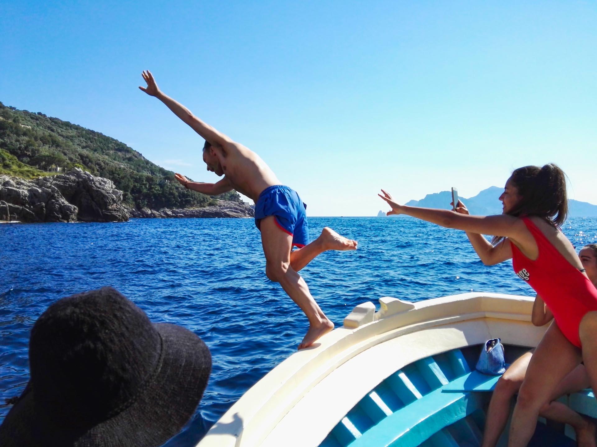 Sorrento boat excursion