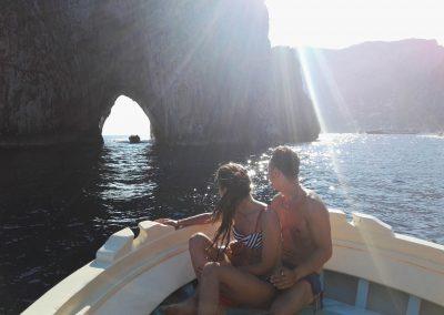 Boat and fishing tour to Capri and Faraglioni