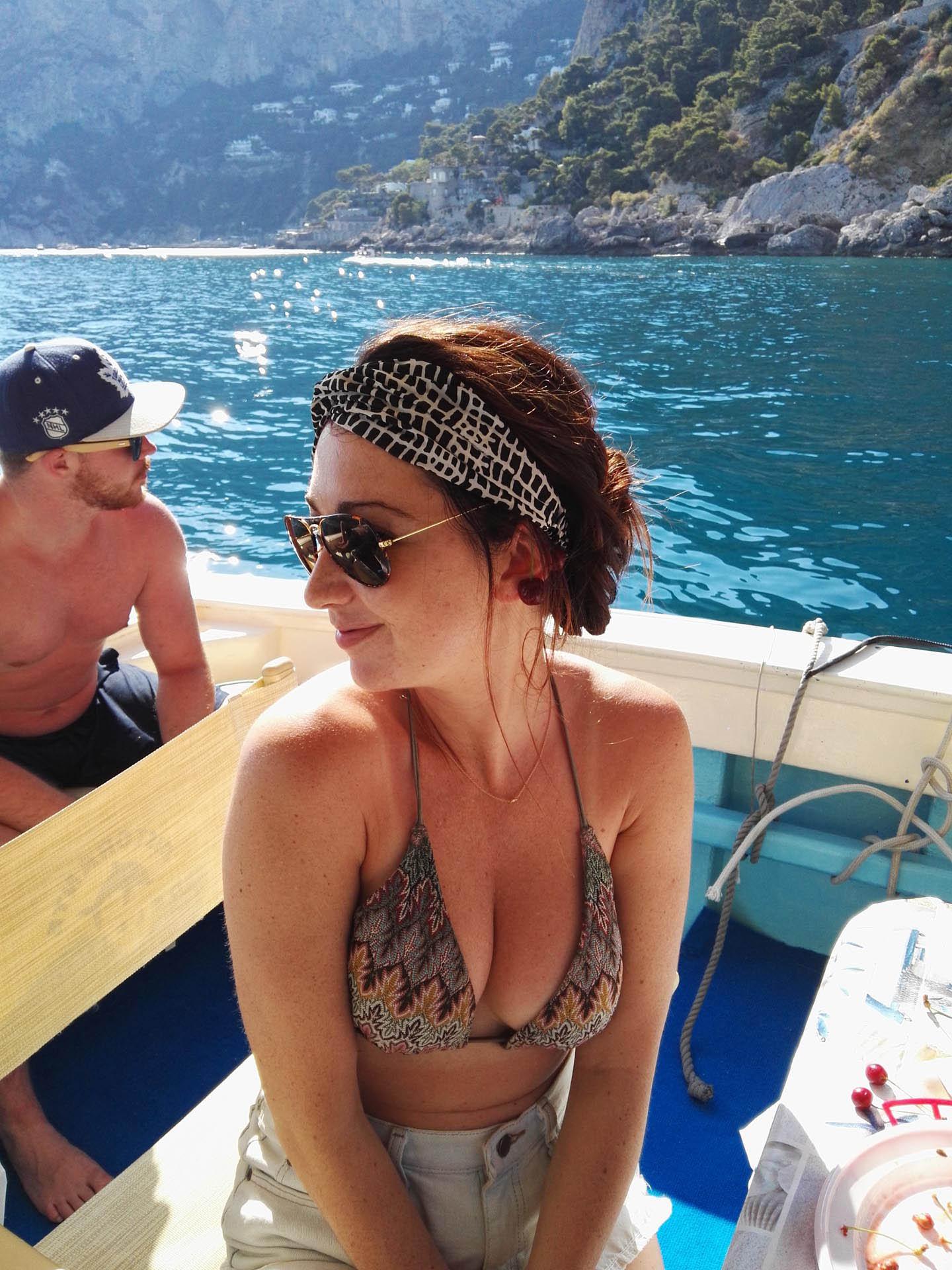 Escursione in barca a Capri da Sorrento