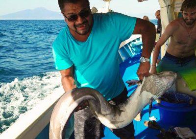 Esperienza di pescaturismo professionale a Sorrento