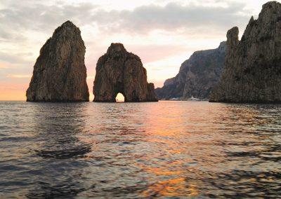 Faraglioni excursion on boat