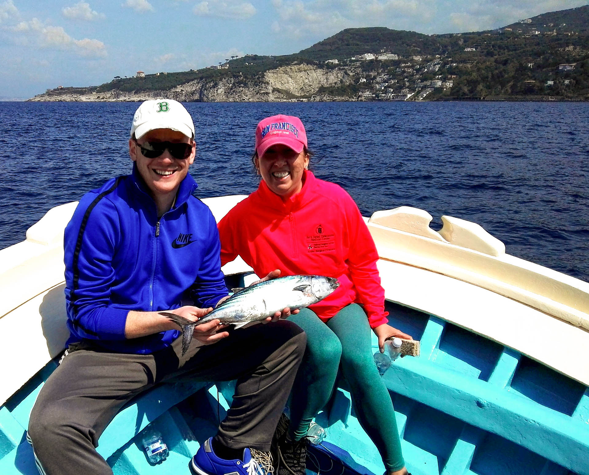 Pesca del tonno vicino Sorrento