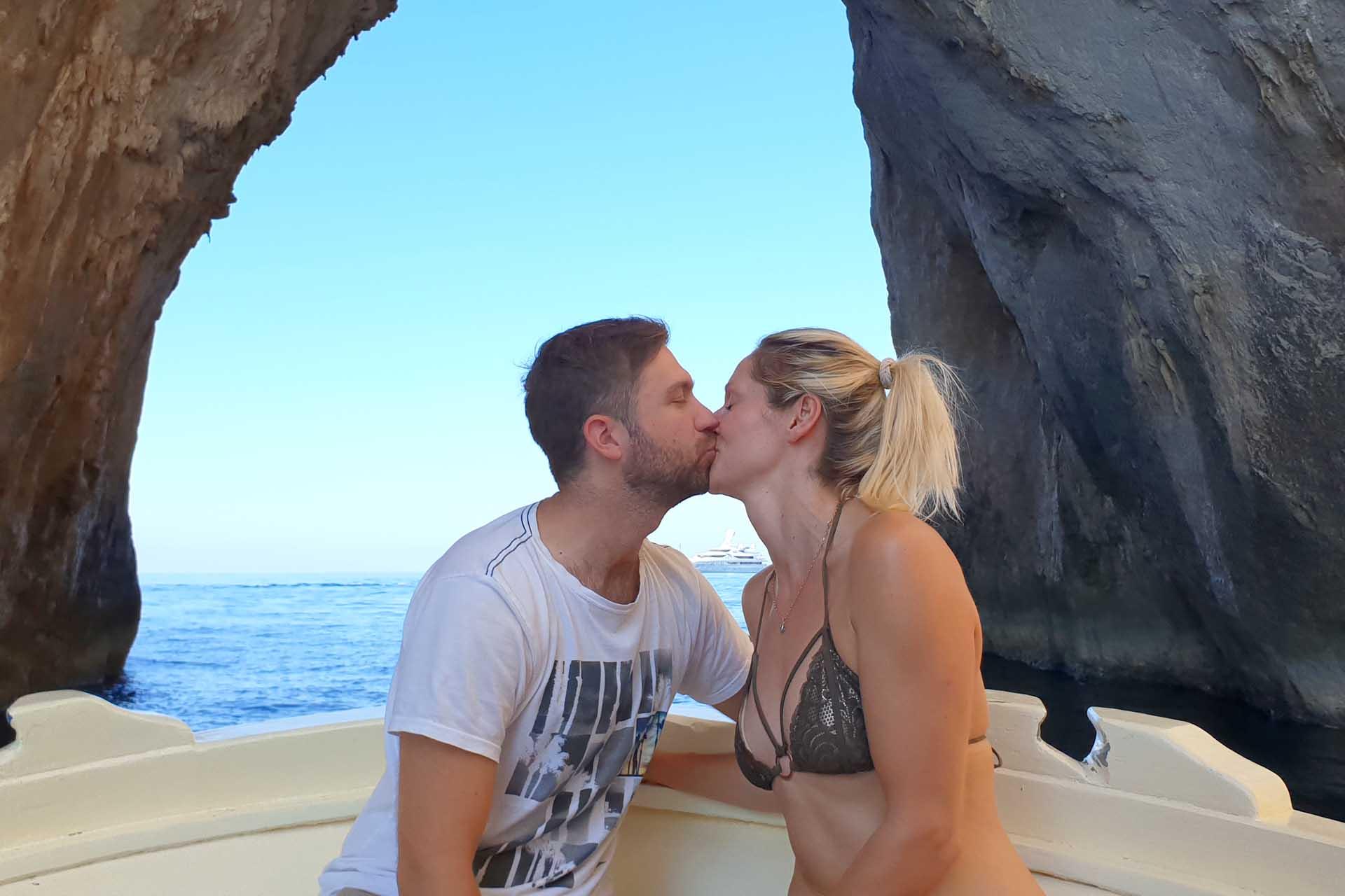 Arco dell'amore a Capri