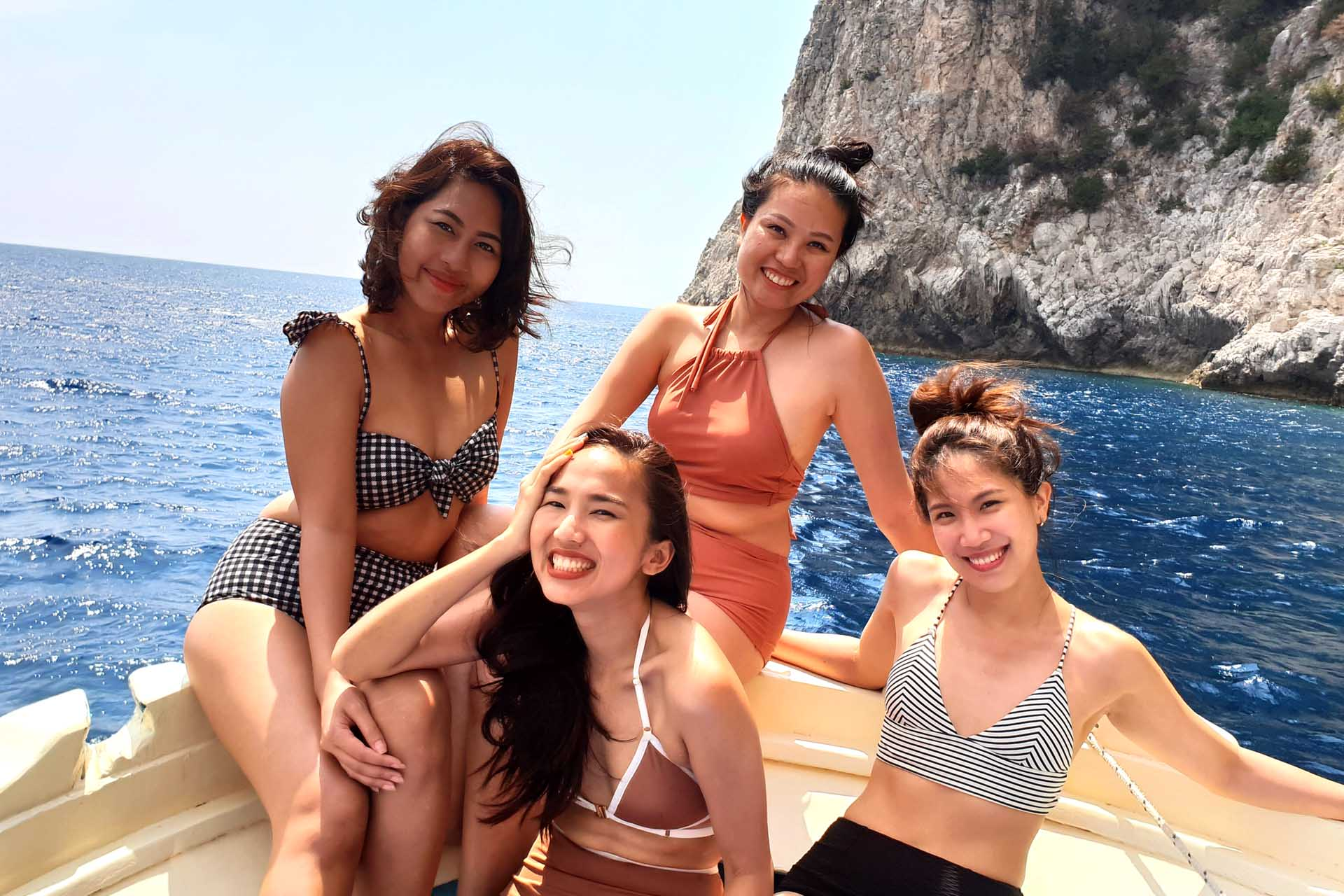 Boat excursion to Positano for groups