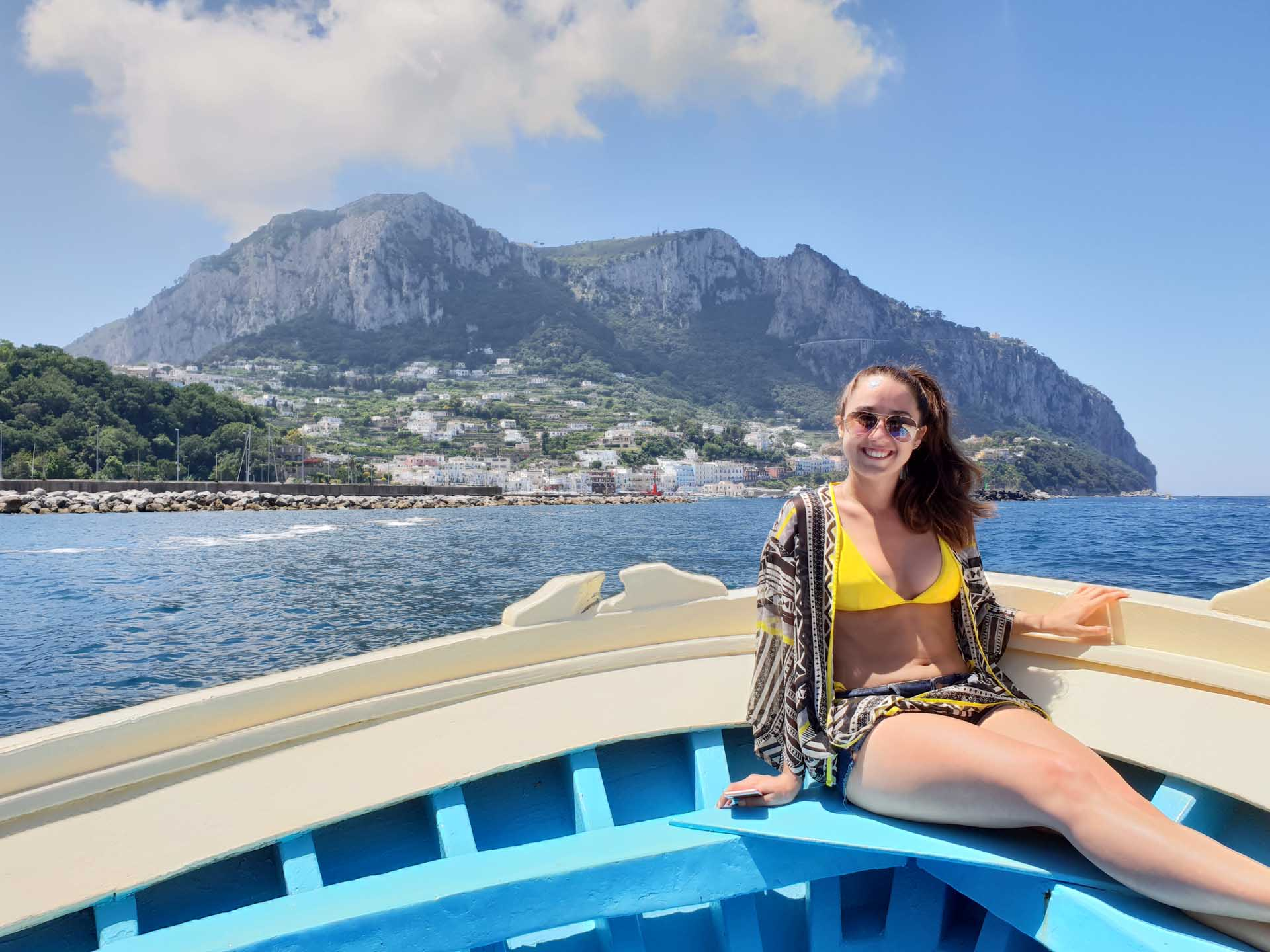 Capri Island boat tour