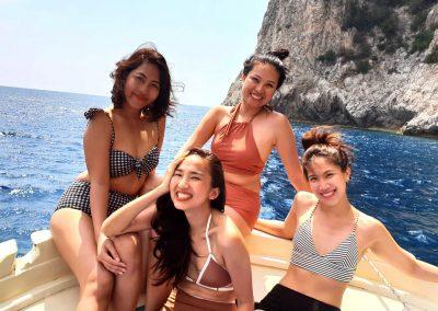 Escursione in barca a Positano per gruppi