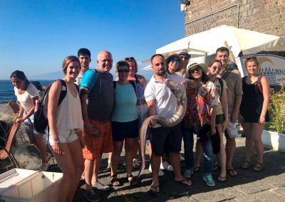 Fisging tour at Capri for groups