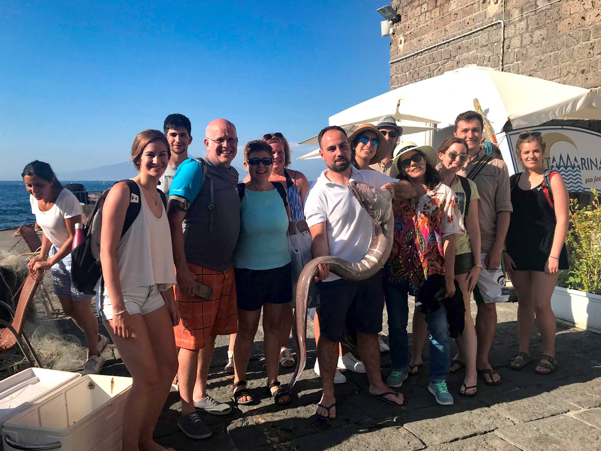 Fisging tour at Capri for groups