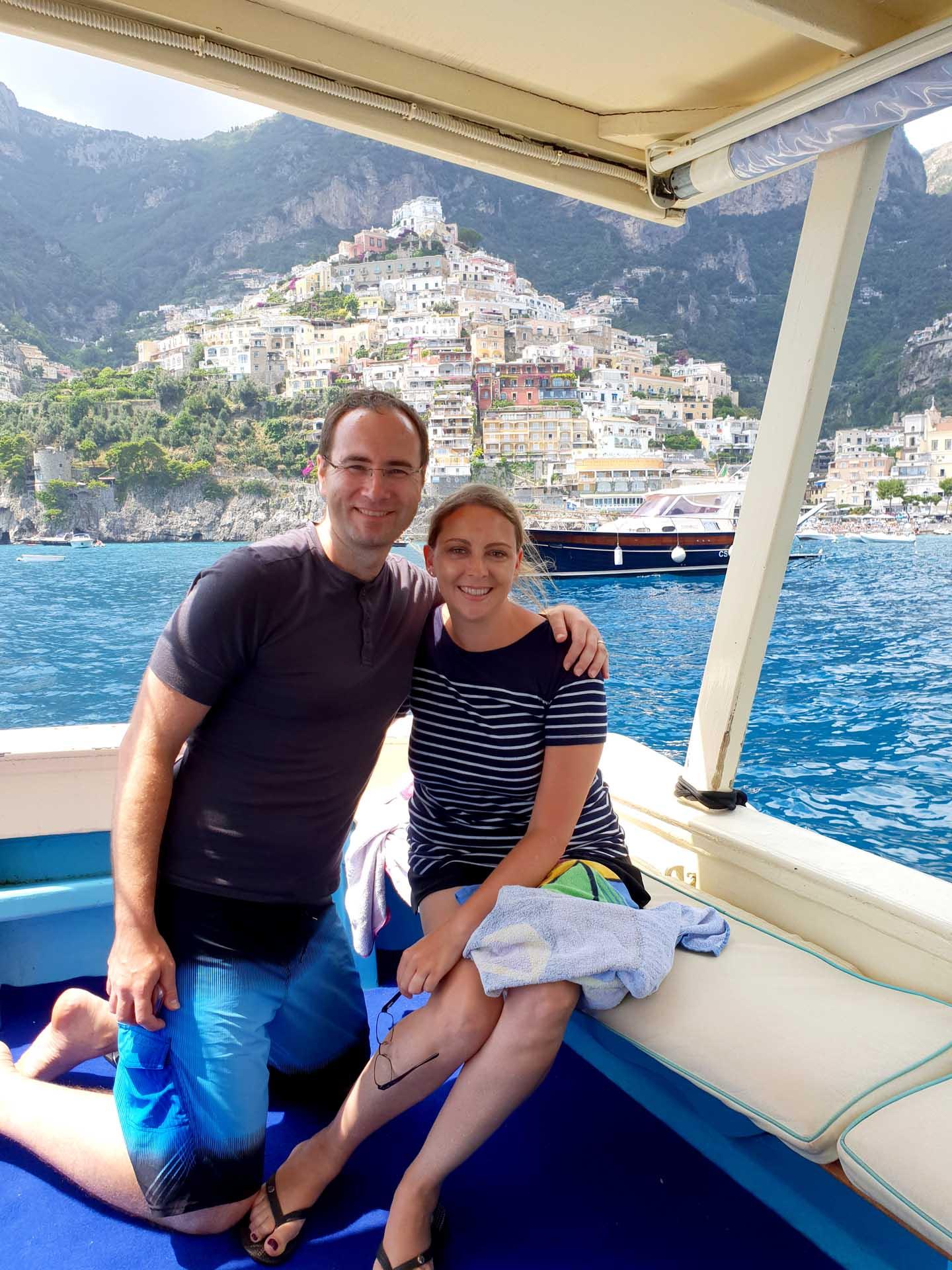 Private boat excursion to Amalfi Coast