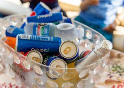 Bibite fresche gratuite in barca a Positano