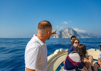 Boat trip to Capri from Sorrento