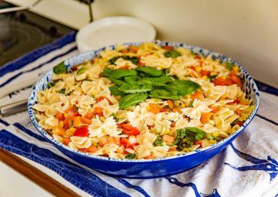 Pasta fresca per pranzo in barca a Capri