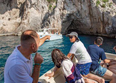 Tour delle grotte di Capri in barca
